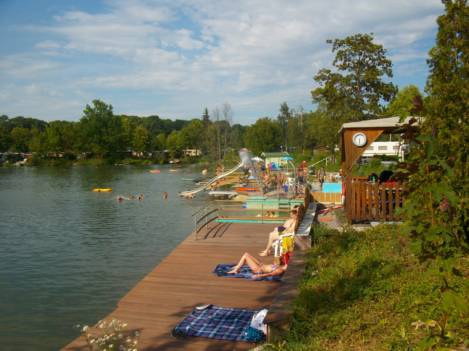 Campingplatz Sperrfechter Freizeitpark Camping Am See